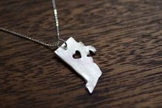 I heart Rhode Island necklace. I just think this is precious and I want it so much.