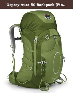 Osprey Aura 50 Backpack (Pinon Green, Small). The Aura 50 provides the ideal volume for your next superlight backpacking experience. At 3000 cubic inches and with an average weight of just over 3 lbs./ 1.5 kg, you can carry your superlight essentials with ease and comfort. A traditional floating top pocket/top load design and twin front pockets with welded water resistant zips makes loading easy. Other features include an internal hydration sleeve, zippered mesh pockets on the hipbelt and...