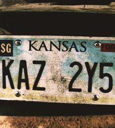KAZ 2Y5 #Supernatural #Impala #FavouriteCar <3