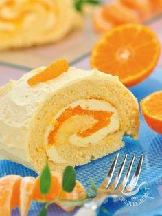 Roll the orange cream - Cimentatevi nella Rotolo alla crema di arancia: è facile facile e dà molta soddisfazione! Apprezzerete il profumo degli agrumi, rigorosamente bio!