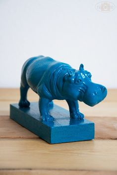 For Meredith...(and Joe and the kids, of course)  But she's the one who collects hippos...