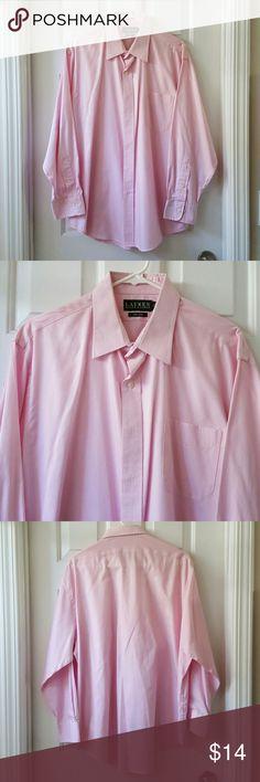 [REDUCED] Men's Lauren Ralph Lauren Shirt Men's Lauren Ralph Lauren Button Down Shirt.  Front pocket. Great condition. Non iron. 100% Cotton. Length from shoulder to hem is approx 30 inches. Lauren Ralph Lauren Shirts Casual Button Down Shirts
