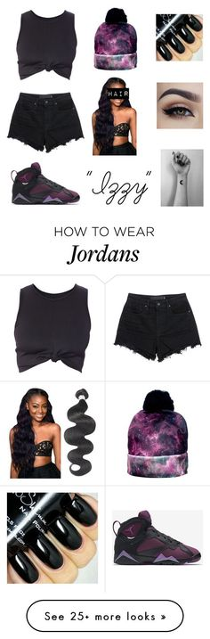 """""""Izzy"""" by bessydolan on Polyvore featuring moda, T By Alexander Wang, NIKE, women's clothing, women, female, woman, misses y juniors"""