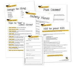 """lds activity days templates handout 