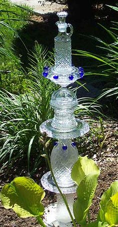 Glass Totems - embellishments