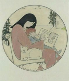 View Mother and child reading by Will Barnet on artnet. Browse upcoming and past auction lots by Will Barnet. Cat Painting, Barnet, Library Art, Cat Art, Reading Art, State Art, Art, Book Art, Prints