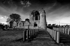 Fallen at Kinloss Abbey