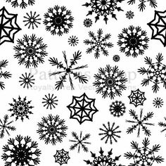 Free Christmas Silhouette Patterns | vector christmas pattern