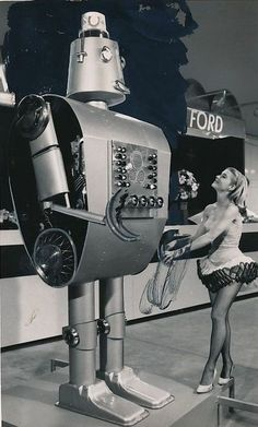 Freddie Ford Robot ca.1965