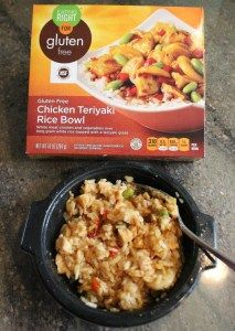Meh. Eating Right's Gluten-Free Chicken Teriyaki Bowl.