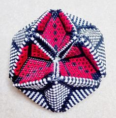 how to make a beaded kaleidocycle - Google Search