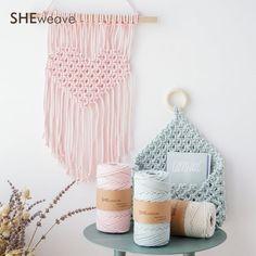 3.5MM Macrame cord cotton cordcraft cord ropemacrame rope | Etsy Macrame Supplies, Macrame Projects, Loom Weaving, Tapestry Weaving, Cordon Macramé, Macrame Cord, Cotton Rope, Handmade Items, Handmade Gifts