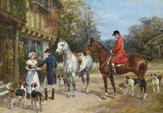 "Alfred Wierusz-Kowalski (Alfred Jan Maksymilian Kowalski) Perros y lobos / Dogs and Wolves ""Samotny wilk / El lobo solitario / Lon. Race Horse Breeds, Decoupage, Equestrian Decor, Horse Silhouette, Art Society, Fox Hunting, Victorian Art, Sports Art, Museum Of Fine Arts"
