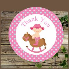 This listing is for one PRINTABLE PDF file. You will get a PDF file to print on letter size 8.5 x 11 The file has 12 stickers of 2.5 inches including the 4 models as shown ... #etsy #decoration #cowgirl
