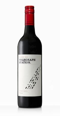 Telegraph Station by Scott Matthews, via Behance wine / vinho / vino mxm #vinosmaximum