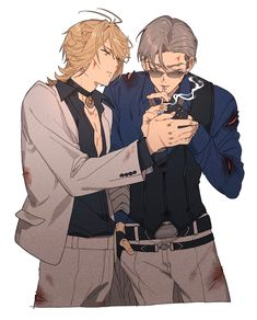 Hot Anime Boy, Anime Guys, Zoldyck, Vinland Saga, Touken Ranbu, Perfect Man, Hetalia, Anime Couples, Bad Boys