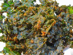 kale chips - italian seasoning
