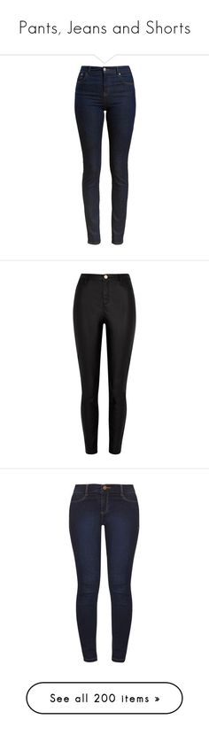"""""""Pants, Jeans and Shorts"""" by shealwaysfashion ❤ liked on Polyvore featuring jeans, pants, bottoms, pantalones, stretch denim jeans, slim fit jeans, slim fit cowboy jeans, dark-wash jeans, western jeans and black"""