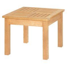 Have to have it. HiTeak Furniture Teak Side Table - $215.25 @hayneedle