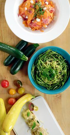 While everyone loves a good pasta, filling up on a ton of carbs isn't what we're always going for. Thankfully, there are a lot of healthy and tasty alternatives in the form of vegetables, and we're here to show you how you can eat pasta without any guilt. And while the spiralizer is a great invention, it's something most people don't own, so we're going to show a few different ways to achieve the same noodle with various kitchen appliances.