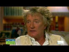 Rod Stewart talks about having thyroid cancer.