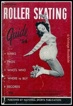 SKATE~1954 Roller Skating Guide