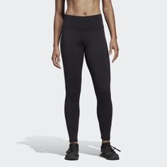 Believe This Solid Tights Black Adidas 5dd40a2d76a