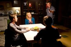 Ep. 6 The Truth (Bates Motel) Pic 6 / 17 As the boys return home so does Shelby from the woods. He forces the family at gunpoint into the kitchen where he wrestles with what to do next. He directs his rage at Norman, saying that he loved Norma and was going to take care of them, but now everything is ruined - AETV.com