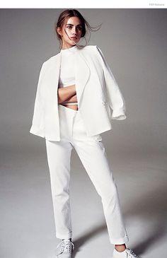 All white | Naima Barcelona