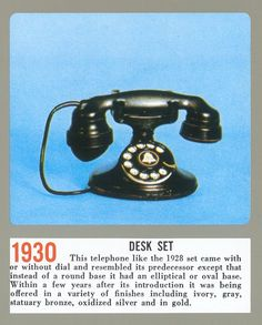 1930 telephone - Google Search