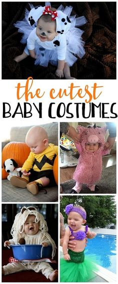These are the cutest baby costumes for Halloween!!