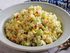 Get this all-star, easy-to-follow Macaroni Salad recipe from Paula Deen