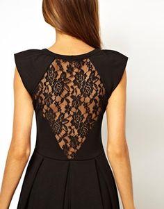 Image 3 ofA Wear Lace Back Dress