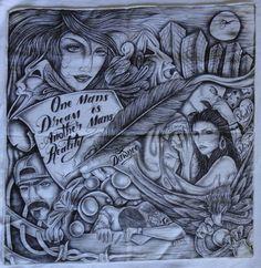 Aztec Prison Art | Prison Pano Art Pictures