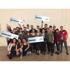 Congratulations to the 4 competing #teams yesterday at @provinggroundscomps #reindeergames! Very proud of each one of you. We also had the best #hypesquad out there! So #thankful for our #LMBRJCKD #family. #daremightythings