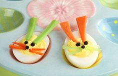 Bunny Deviled Eggs - Easter Brunch Ideas