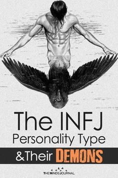 The INFJ Personality Types and Their Demons – Hey Introvert Infj And Entp, Infj Infp, Enfj, Infj Traits, Rarest Personality Type, Myers Briggs Personality Types, Mbti Personality, Advocate Personality Type, Psychology Facts Personality Types