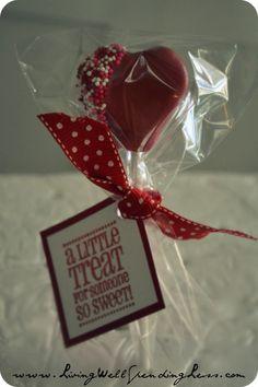 Valentine's Day Cake Pops {DiY} - Living Well Spending Less™