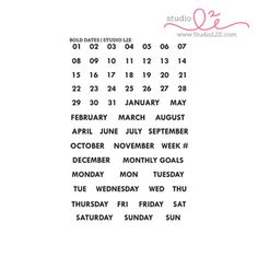 Bold Dates $15
