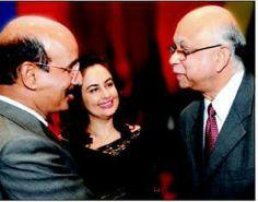Dr. Panda with K G Ananthkrishnan,MD,MSD India (formerly Merck)