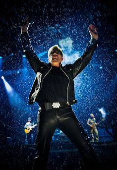 Bono always touches your soul during a performance, leaving you 4ever changed.