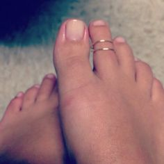 Simple Toe Ring on Etsy, $2.00