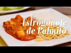 Estrogonofe de Palmito - Presunto Vegetariano