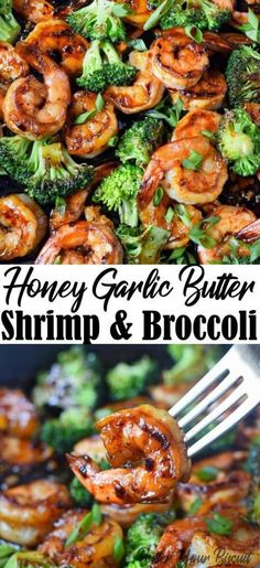 Honey garlic butter shrimp is a gourmet meal with no effort. Perfect for those busy weeknights or elegant enough for company. : Honey garlic butter shrimp is a gourmet meal with no effort. Perfect for those busy weeknights or elegant enough for company. Shrimp Recipes For Dinner, Shrimp Recipes Easy, Fish Recipes, Seafood Recipes, Gourmet Recipes, Chicken Recipes, Cooking Recipes, Healthy Recipes, Gourmet Meals