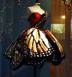 butterfly dress. so magical.