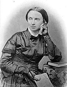 Jane Swisshelm, ardent abolitionist and fiery editor of the St. Cloud Democrat. In the aftermath of the war she called for the extermination of the Indians.