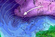 Weather WARNING: UK to be hit by FURIOUS storm on Monday that will UNLEASH Easter SNOW -  Britons are warned to make the most of the calm and relatively mild weather before all hell breaks loose after the weekend.  A deep low-pressure system will sweep Britain on Monday whipping up gale-force winds and dumping more than an inch of rain in parts.  The storm which the Met Office said is unlikely to be named will move eastwards into the North Sea on Tuesday.  Strong winds associated with the…