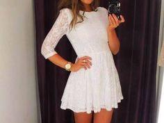 Es un vestido casual muy cool.