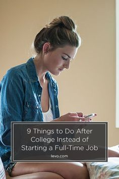 Questioning what to do after college? (instead of a full-time job) #levograds. www.levo.com