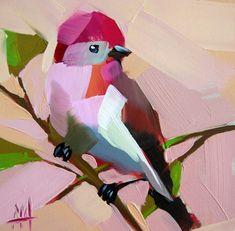 Bird Painting #OilPaintingBirds